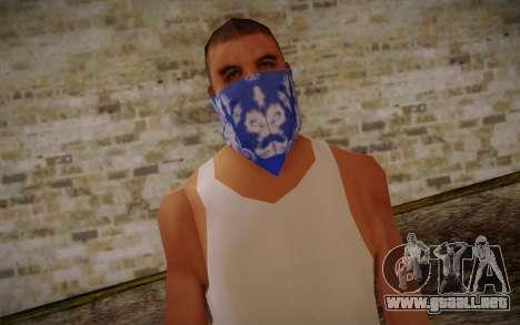 New Fam Skin 2 para GTA San Andreas tercera pantalla