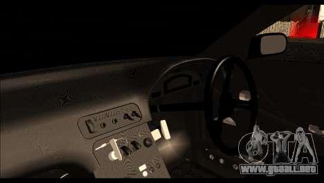 Nissan 180SX Monster Energy Spoiler para la visión correcta GTA San Andreas