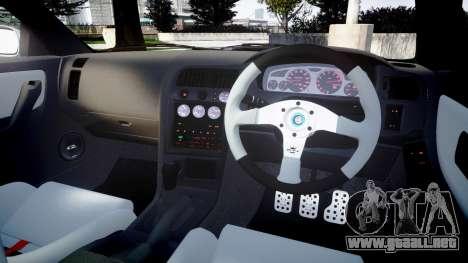 Nissan Skyline GT R33 1996 para GTA 4 vista lateral