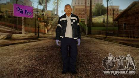 GTA 4 Emergency Ped 5 para GTA San Andreas