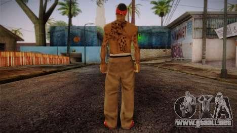 Fresno Buldogs 14 Skin 1 para GTA San Andreas segunda pantalla