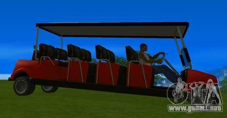 Caddy Restyle para la visión correcta GTA San Andreas