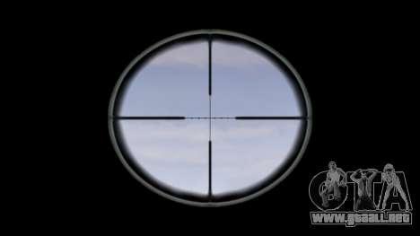 Rifle automático de destino Ak5C para GTA 4 tercera pantalla