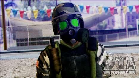 Hecu Soldier 2 from Half-Life 2 para GTA San Andreas tercera pantalla