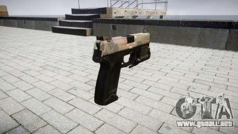 La pistola HK USP 45 berlín para GTA 4 segundos de pantalla