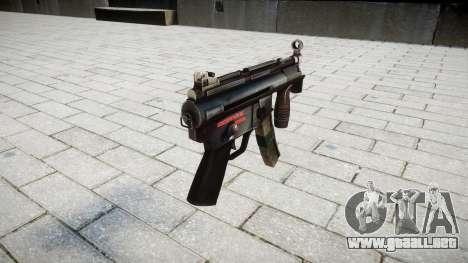 Pistola de MP5K para GTA 4 segundos de pantalla