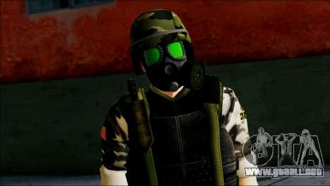 Hecu Soldier 1 from Half-Life 2 para GTA San Andreas tercera pantalla