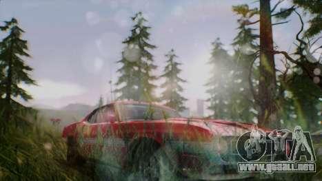 Santo ENB v4 Reffix para GTA San Andreas sucesivamente de pantalla