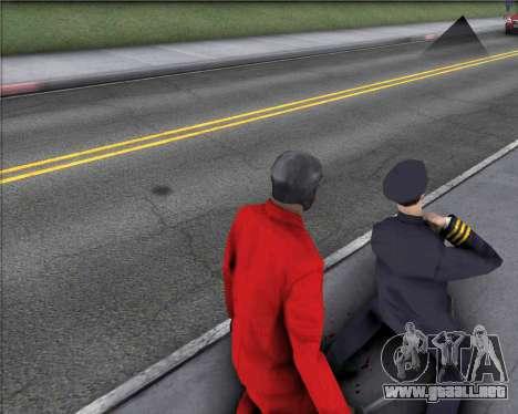 TF2 Spy Butterfly Knife para GTA San Andreas tercera pantalla