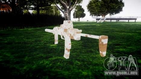 Subametralladora HK MP7 Devgru para GTA 4 segundos de pantalla