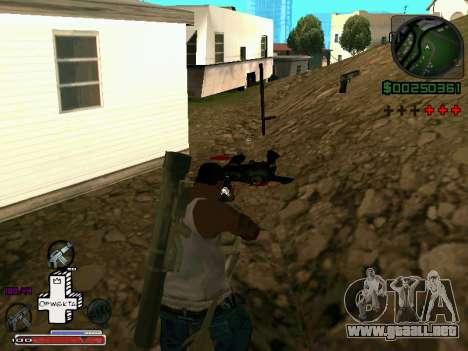 C-HUD Optiwka para GTA San Andreas tercera pantalla