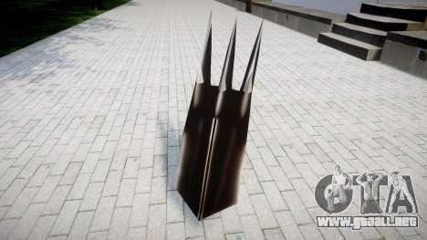 Negro de uña de WarGreymon para GTA 4