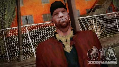 GTA San Andreas Beta Skin 16 para GTA San Andreas tercera pantalla