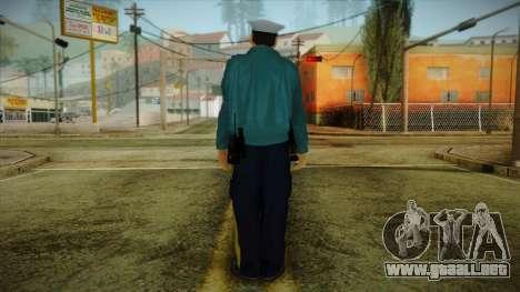 GTA 4 Emergency Ped 1 para GTA San Andreas segunda pantalla