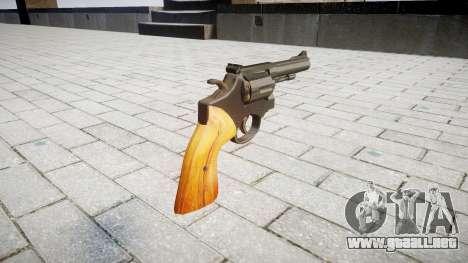 Revólver Smith & Wesson para GTA 4 segundos de pantalla