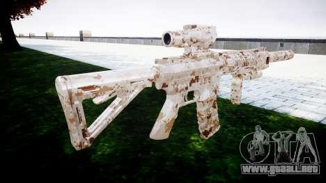 Máquina M4 Devgru para GTA 4 segundos de pantalla