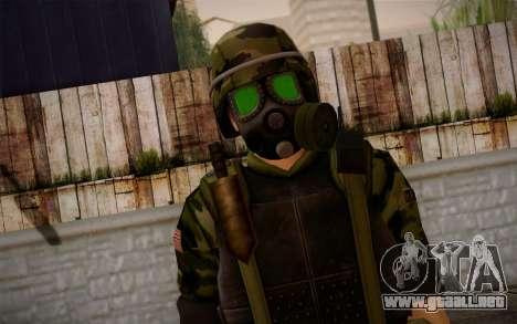 Hecu Soldier 3 from Half-Life 2 para GTA San Andreas tercera pantalla