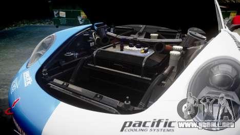 RUF RGT-8 GT3 [RIV] Der Kuhler para GTA 4 vista interior