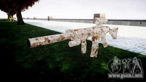 Máquina M4 Devgru destino para GTA 4