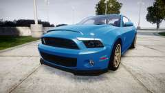 Ford Mustang Shelby GT500 2013 para GTA 4