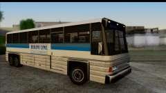 Entrenador en el interior 3D para GTA San Andreas