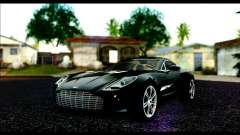 Aston Martin One-77 Beige Black para GTA San Andreas