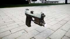 La pistola HK USP 45 de hielo
