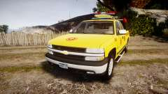 Chevrolet Silverado Lifeguard Beach [ELS] para GTA 4