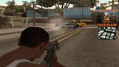 C-HUD by Fernando Delgado para GTA San Andreas