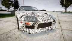 Toyota Supra 1998 Sharpie para GTA 4