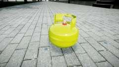Granada-cilindro de Gas-