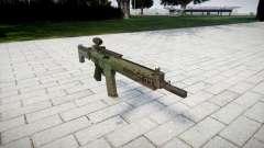 Rifle automático de destino Ak5C para GTA 4