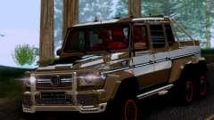 BRABUS 700 - Mercedes-Benz G63 AMG 6x6 para GTA San Andreas