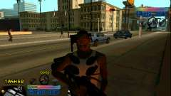 C-HUD Ghetto Star para GTA San Andreas