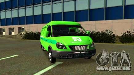 Gacela 2705 PrivatBank para GTA San Andreas