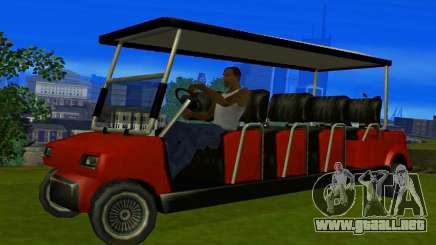 Caddy Restyle para GTA San Andreas