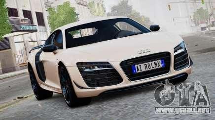 Audi R8 LMX 2015 EPM para GTA 4