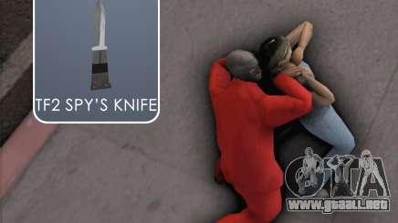 TF2 Spy Butterfly Knife para GTA San Andreas