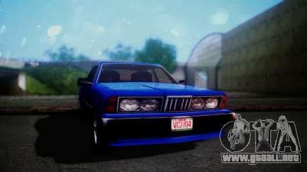 New Sentinel para GTA San Andreas