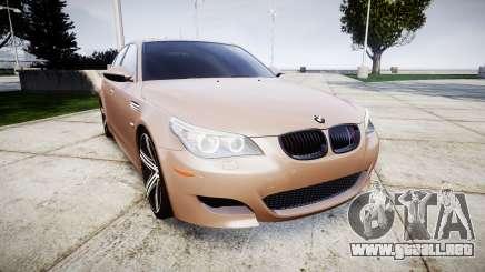 BMW M5 E60 v2.0 Wald rims para GTA 4
