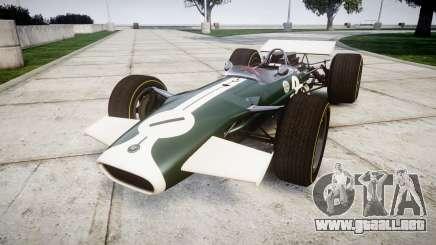 Lotus Type 49 1967 [RIV] PJ1-2 para GTA 4