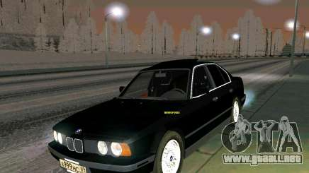 BMW 535i Stock para GTA San Andreas