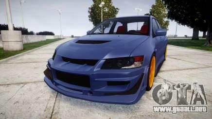 Mitsubishi Lancer Evolution IX para GTA 4