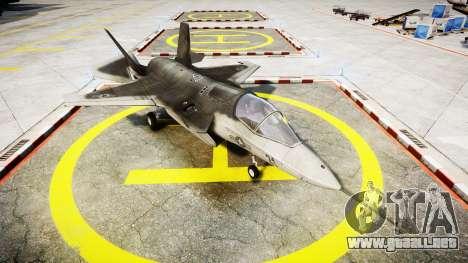 Lockheed F-35B Lightning II para GTA 4