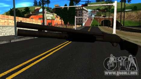 Negro MP-133 Sin Brillo para GTA San Andreas