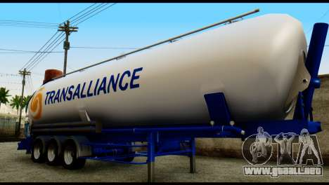 Mercedes-Benz Actros Trailer Transalliance para GTA San Andreas