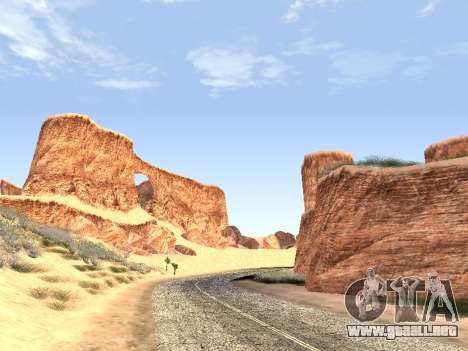Real California Timecyc para GTA San Andreas sucesivamente de pantalla