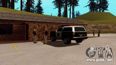 La recuperación de las estaciones de San Fierro para GTA San Andreas octavo de pantalla