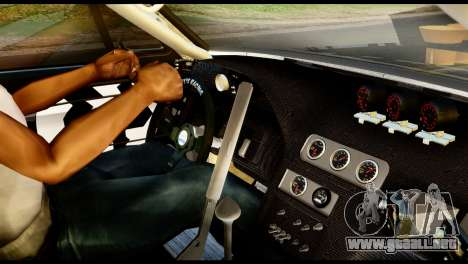 Ford Mustang 1965 Ken Block para GTA San Andreas vista posterior izquierda