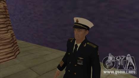 El Cuerpo de infantería de marina de las fuerzas para GTA San Andreas
